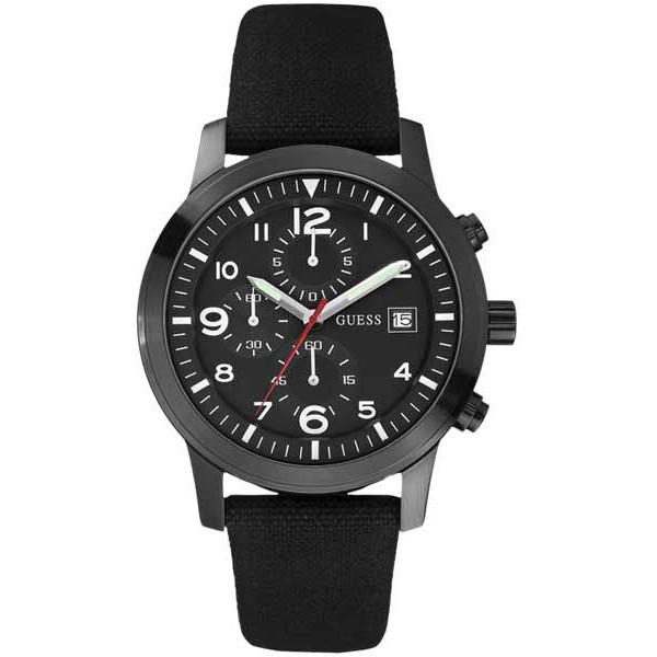 Orologio uomo crono guess w12632g1 cassa in acciaio - Porta orologi uomo ...