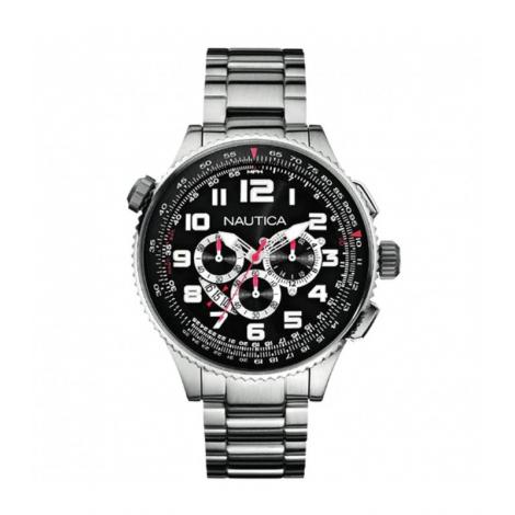 Orologio uomo nautica a29523g cronografo cinturino acciaio - Porta orologi uomo ...