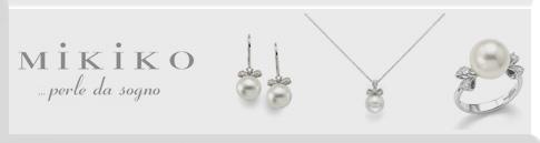 Gioielli , fili di perle mikiko oro 18 kt